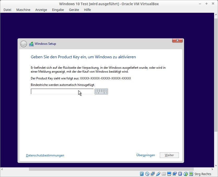Windows 10 Test [wird ausgeführt] - Oracle VM VirtualBox_014