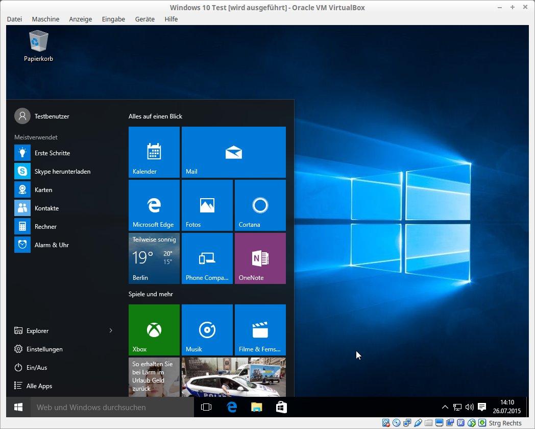 Windows 10 Test [wird ausgeführt] - Oracle VM VirtualBox_022